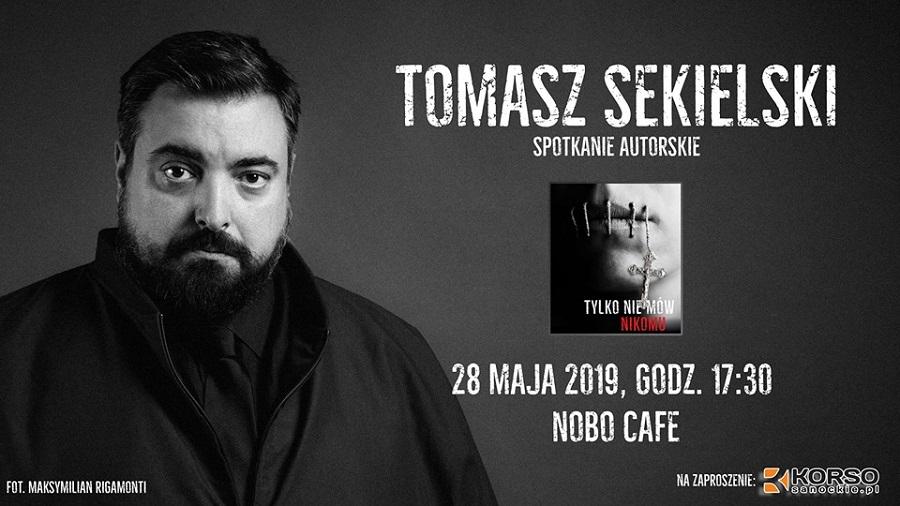 Z REGIONU: AWR KORSO Organizuje spotkanie autorskie z Tomaszem Sekielskim w Sanoku - Zdjęcie główne