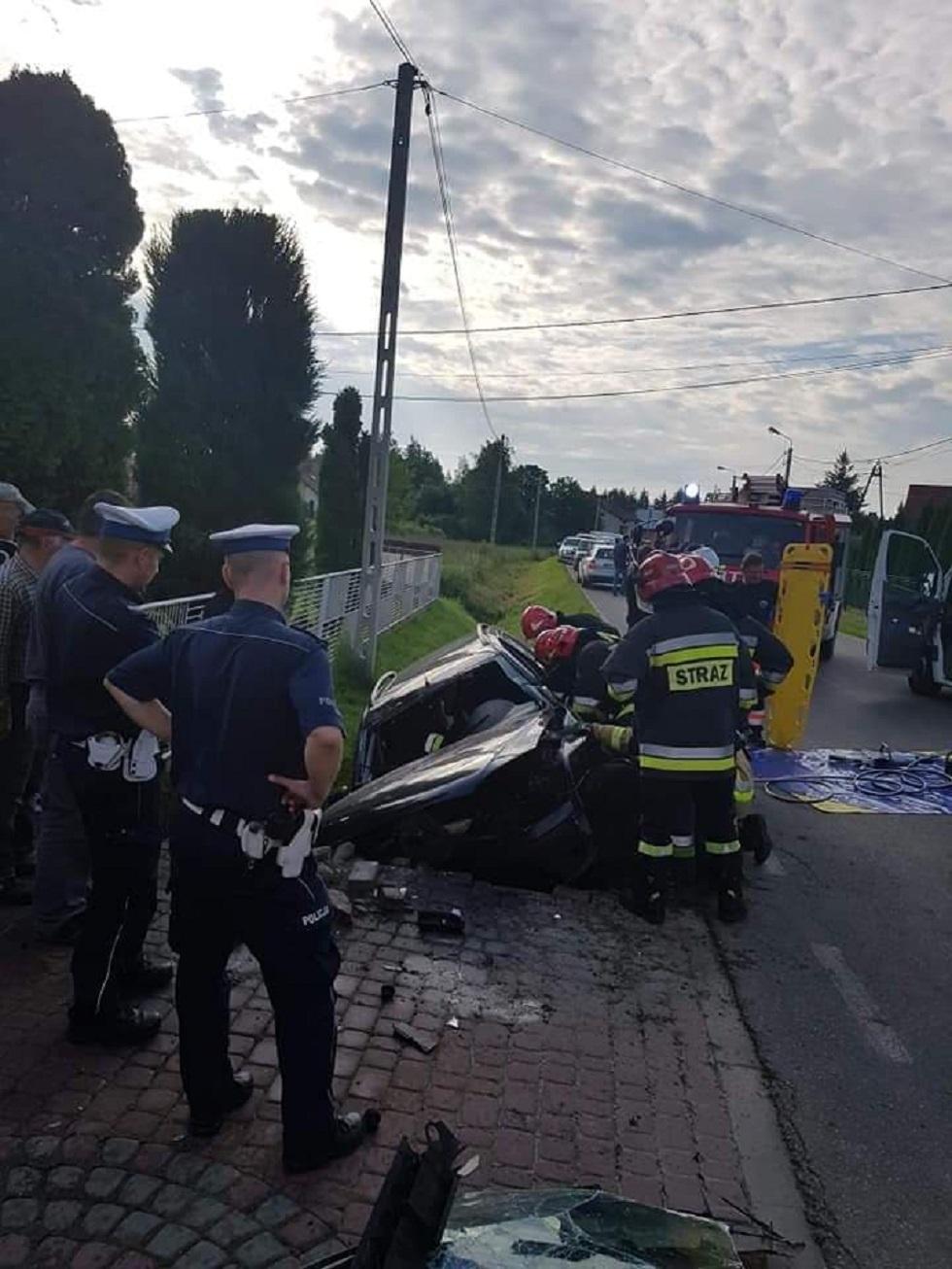 Wypadek w Kiełkowie - Zdjęcie główne
