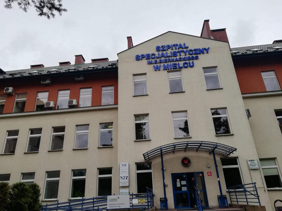 Ognisko koronawirusa na oddziale wewnętrznym mieleckiego szpitala - Zdjęcie główne