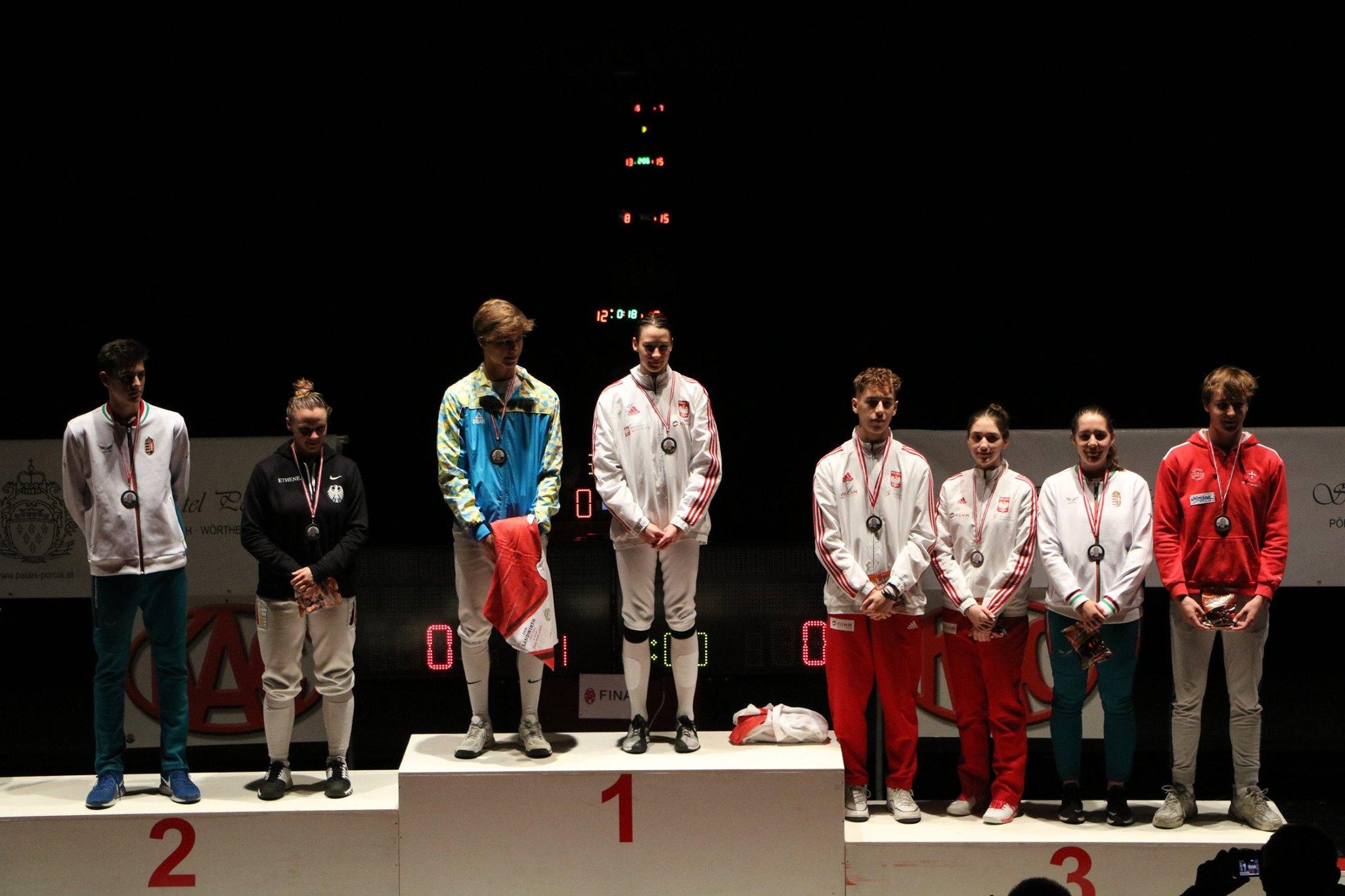 Szermierz z Mielca na podium na Pucharze Europy [FOTO] - Zdjęcie główne