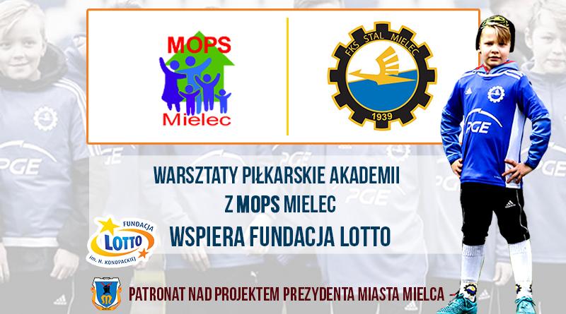 Akademia PGE FKS Stal Mielec z kolejnym projektem. Wspólne warsztaty z podopiecznymi MOPS-u  - Zdjęcie główne