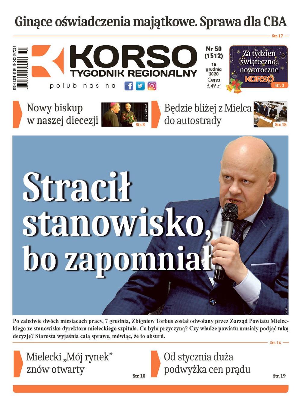 Tygodnik Regionalny KORSO nr 50/2020 - Zdjęcie główne