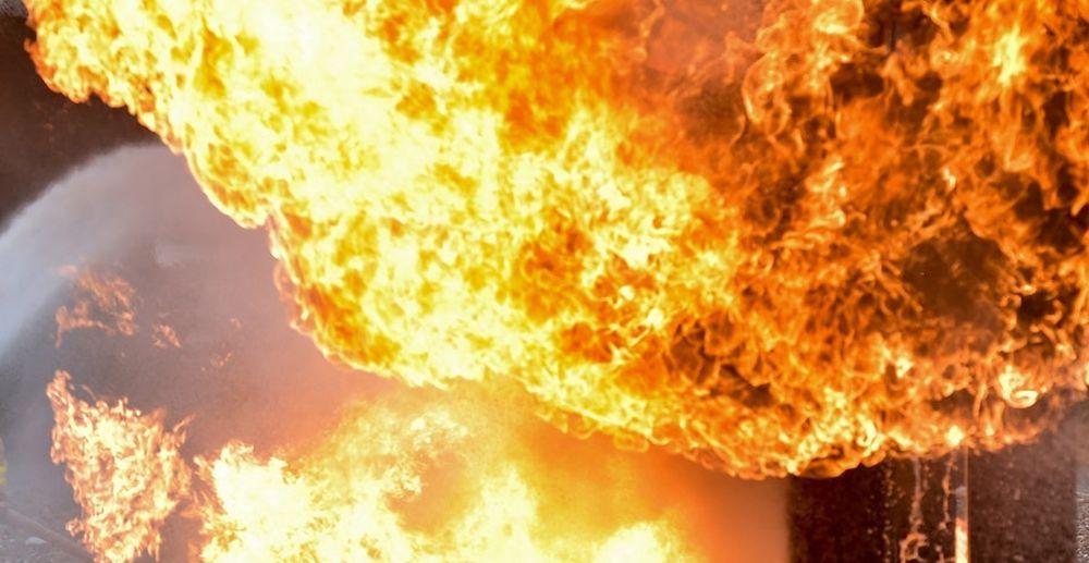 Podkarpacie. Pożar na stacji kolejowej [FOTO] - Zdjęcie główne