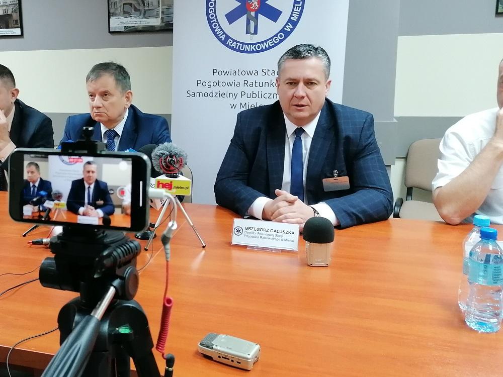 Mielec: Nowy dyrektor pogotowia zaczyna pracę [VIDEO] - Zdjęcie główne