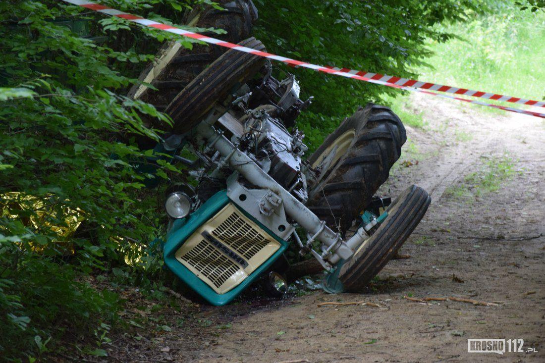 Śmiertelny wypadek - ciągnik przygniótł mężczyznę - Zdjęcie główne