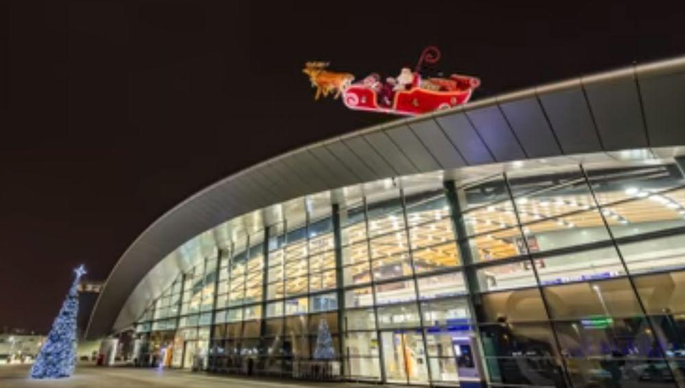Święty Mikołaj przybył do Rzeszowa-Jasionki [VIDEO] - Zdjęcie główne