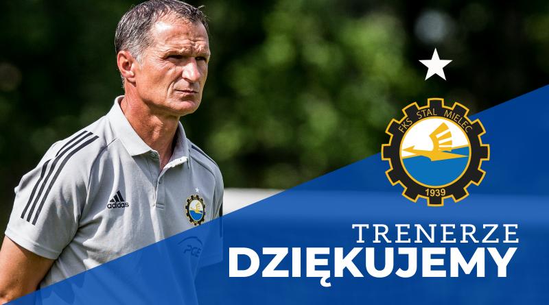 Dariusz Skrzypczak przestaje pełnić obowiązki trenera drużyny PGE FKS Stali Mielec - Zdjęcie główne