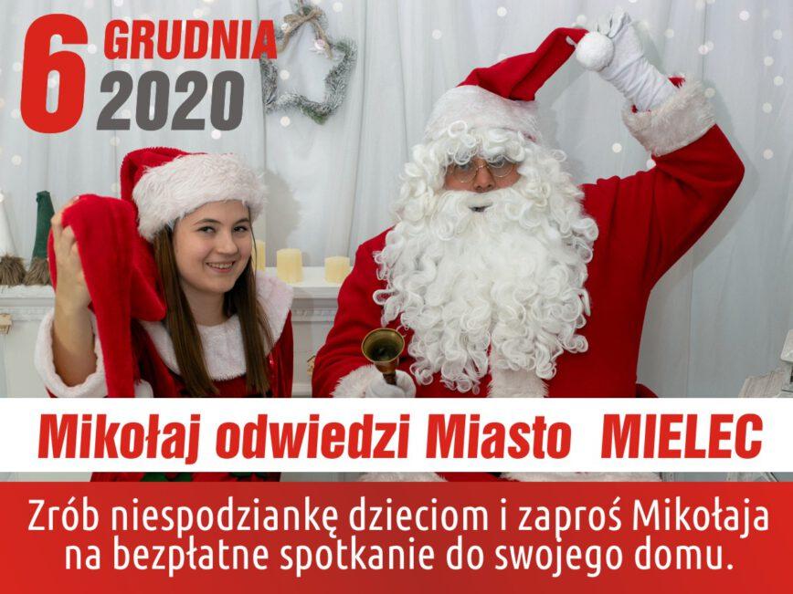 Mikołaj odwiedzi Mielec - Zdjęcie główne