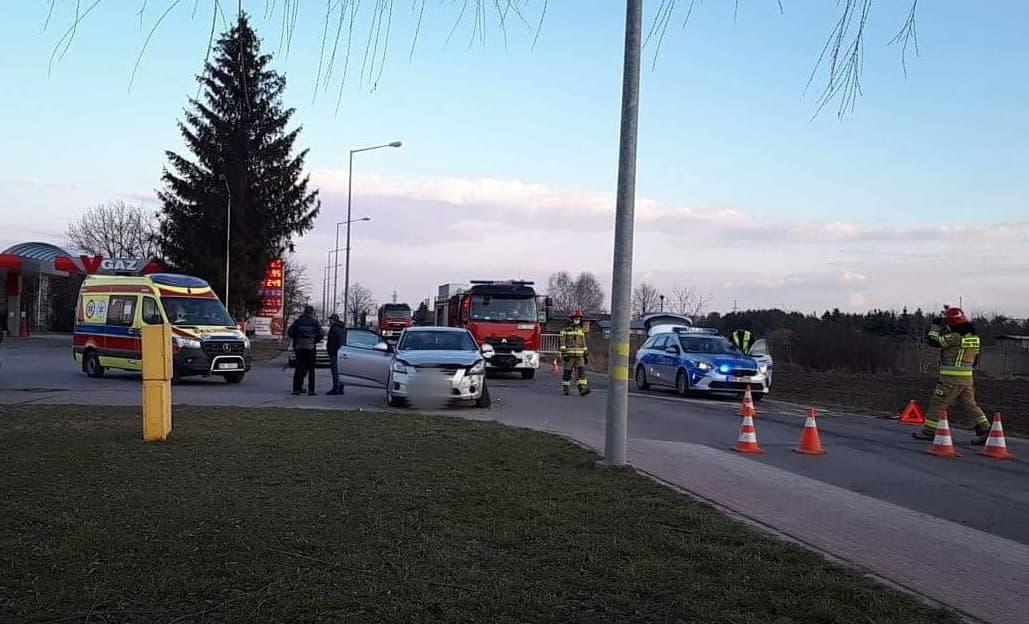 Wypadek na ulicy Traugutta [ZDJĘCIA] - Zdjęcie główne