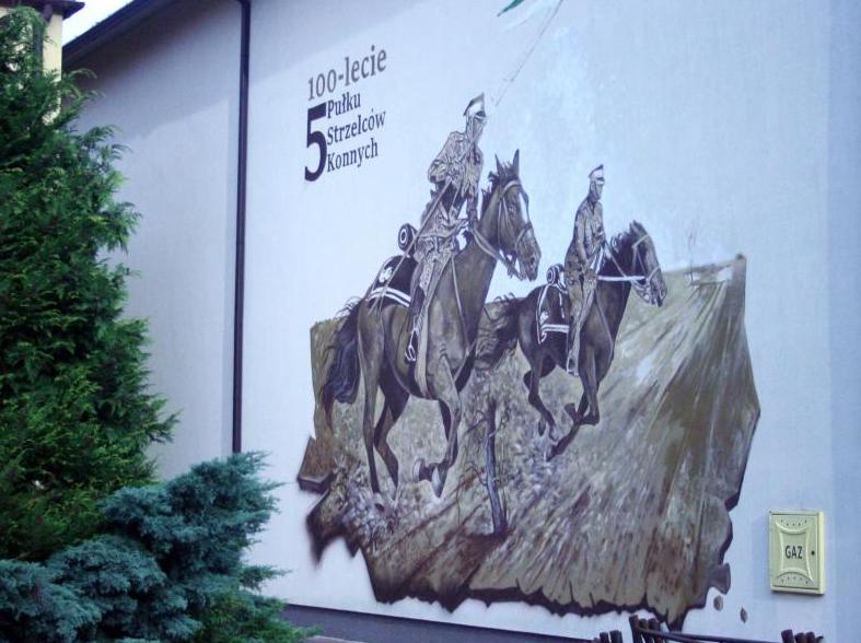 Nowy mural dla uczczenia Strzelców - Zdjęcie główne
