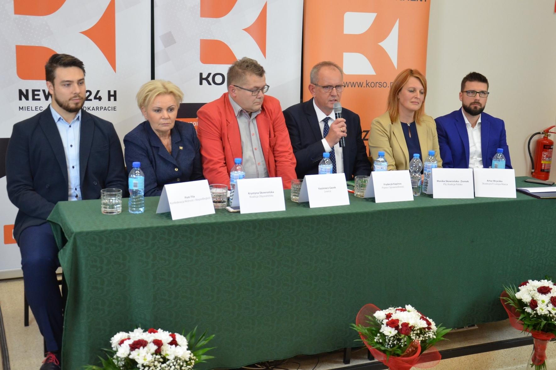Smaczki z mieleckiej debaty, czyli kandydaci obiecują... - Zdjęcie główne