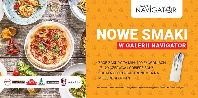 """""""Nowe smaki w Galerii Navigator! - Zdjęcie główne"""