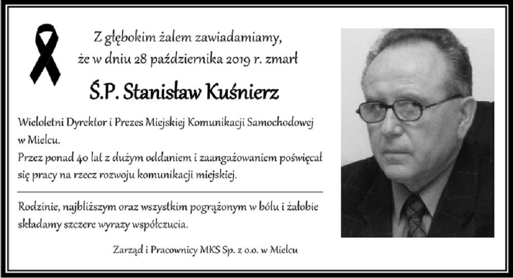 Odszedł dyrektor MKS-u, Stanisław Kuśnierz - Zdjęcie główne
