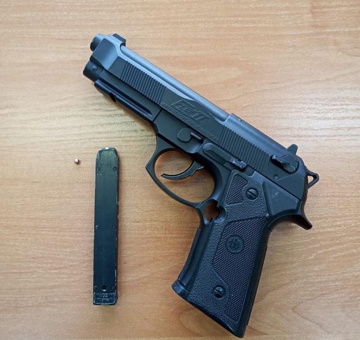 Mierzył z broni do przechodniów w centrum Tarnowa - Zdjęcie główne