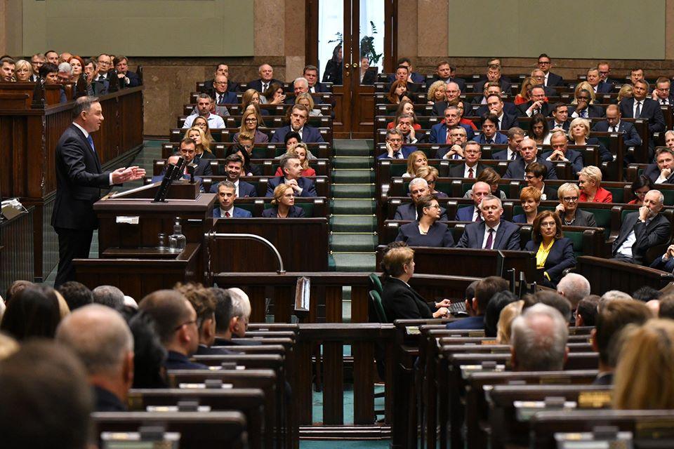 Inauguracja pracy Sejmu. W gronie posłów Mielczanie!  - Zdjęcie główne