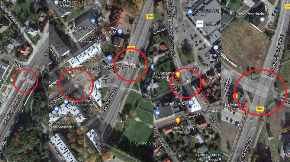 5 przejść dla pieszych w Mielcu do przebudowy. Będą nowoczesne rozwiązania - Zdjęcie główne