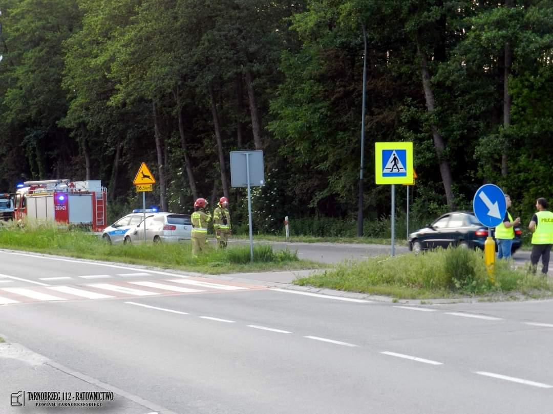 REGION: 3 osoby poszkodowane na Wisłostradzie - Zdjęcie główne