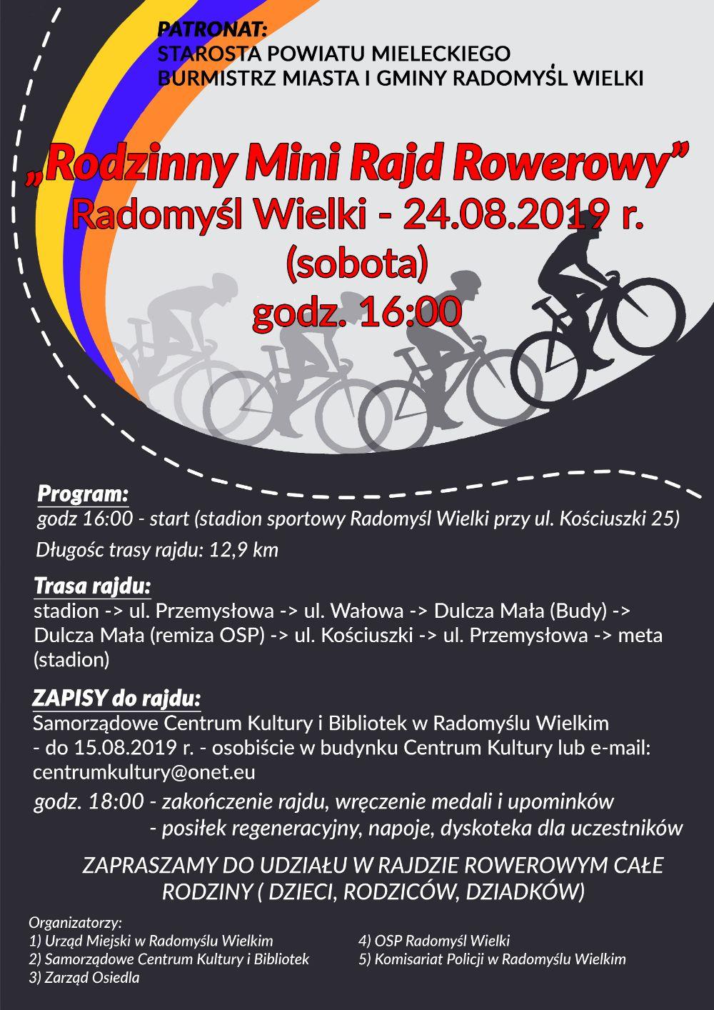 Cały Radomyśl na rowery! - Zdjęcie główne