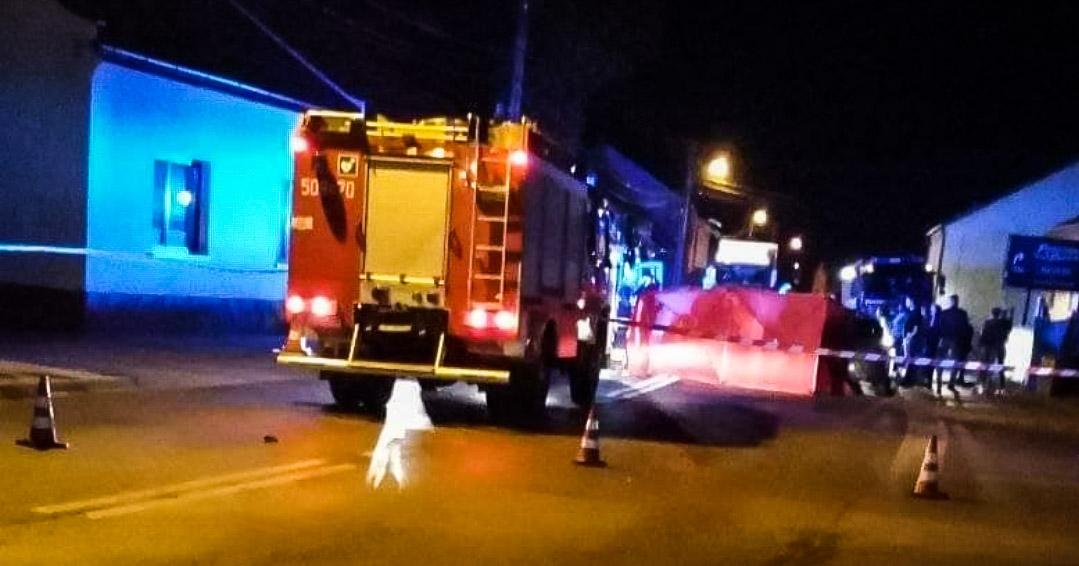 Droga Mielec - Tarnów zablokowana. Wypadek w Radomyślu Wielkim! - Zdjęcie główne