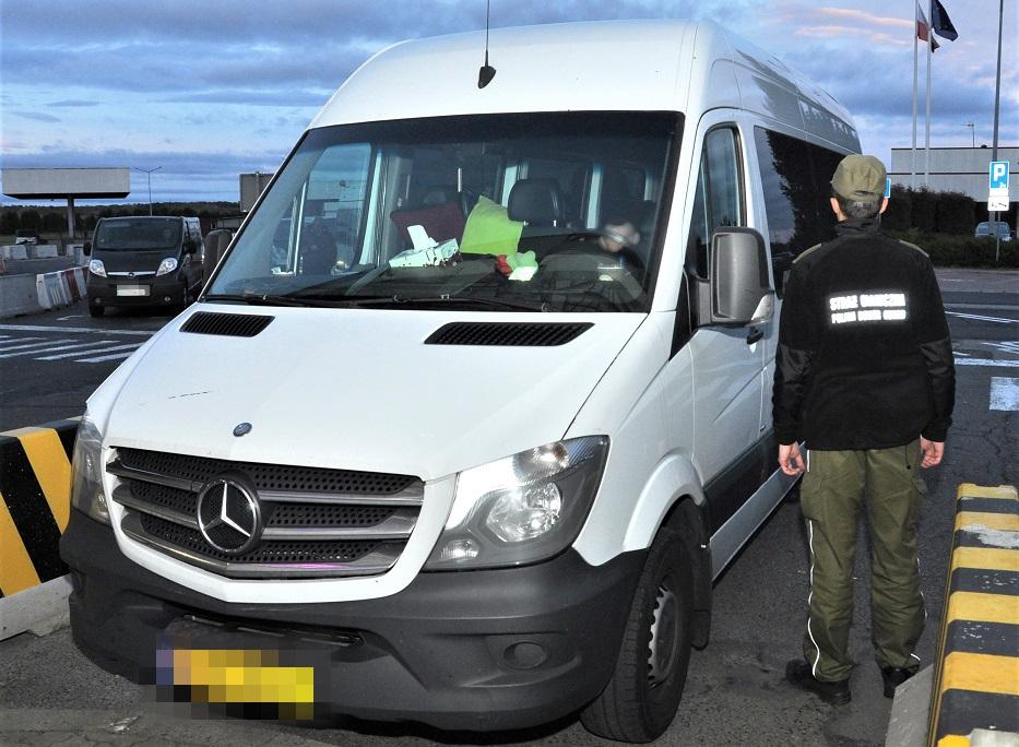 W Korczowej zatrzymano skradzione busy - Zdjęcie główne