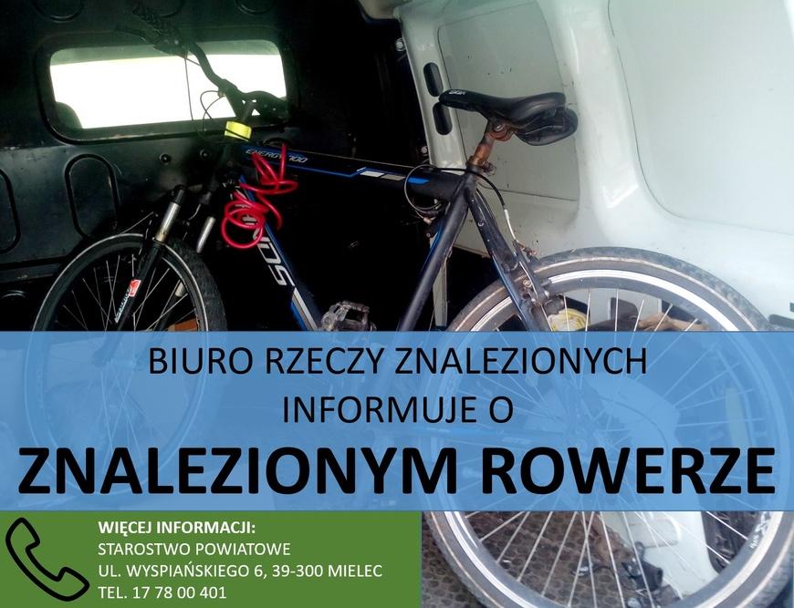 W Chorzelowie znaleziono rower - Zdjęcie główne