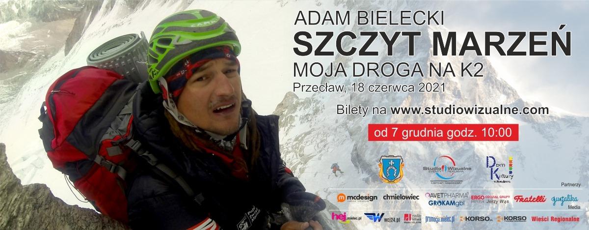 """Słynny Himalaista przyjedzie do Przecławia. Adam Bielecki i jego """"Szczyt Marzeń"""" już wkrótce  - Zdjęcie główne"""