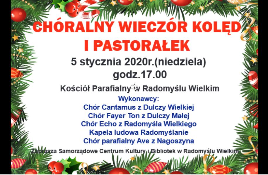 """""""Cicha noc"""" pełna kolęd i pastorałek w Radomyślu - Zdjęcie główne"""