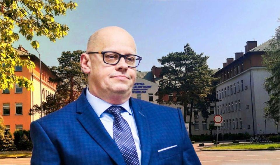 """Zbigniew Torbus wyjaśnia sprawę odwołania go ze stanowiska dyrektora szpitala i złożenia oświadczenia majątkowego """"rzekomo"""" po terminie - Zdjęcie główne"""