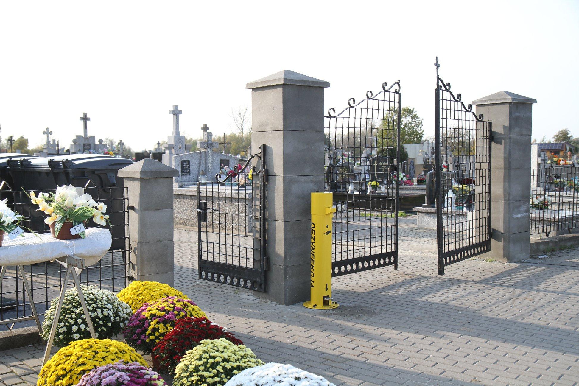 Plan i organizacja ruchu 1 listopada przy cmentarzu komunalnym w Mielcu [MAPKA] - Zdjęcie główne