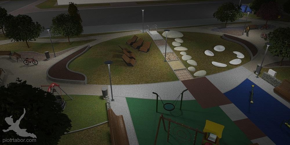 Jest pomysł na zagospodarowanie zaniedbanego parku koło Starostwa Powiatowego na Sękowskiego w Mielcu - Zdjęcie główne