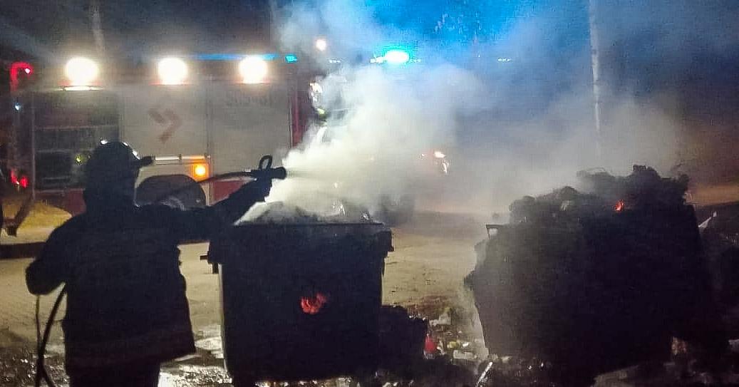 Kolejny pożar przy cmentarzu! - Zdjęcie główne