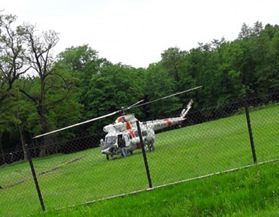 Gmina Wadowice Górne: Helikoptery Policji i Straży Granicznej lecą do Izbisk [VIDEO, AUDIO] - Zdjęcie główne