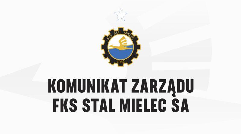 Zmiany w Zarządzie FKS Stali Mielec S.A.  - Zdjęcie główne