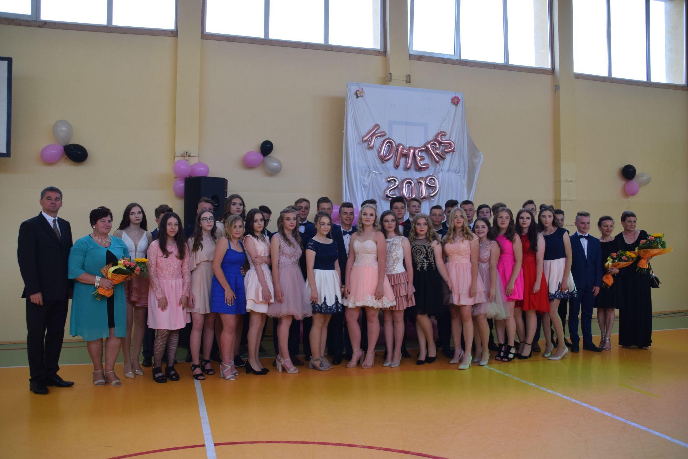 Komers uczniów Gimnazjum w Tuszowie Narodowym [FOTO] - Zdjęcie główne