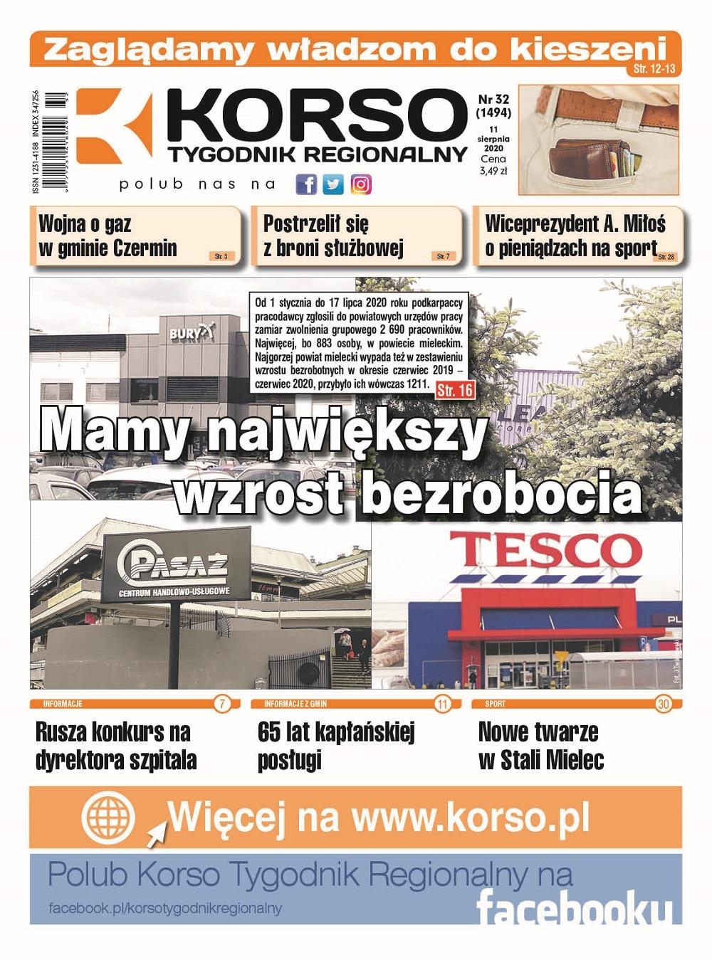 Tygodnik Regionalny KORSO nr 32/2020 - Zdjęcie główne
