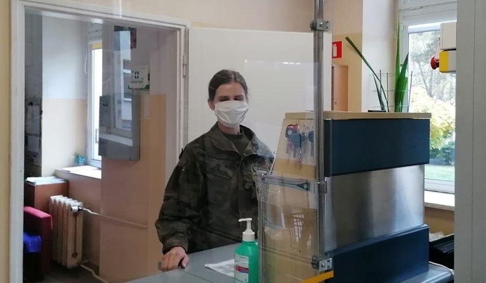 Wojsko w mieleckim szpitalu. Co tam robią żołnierze? - Zdjęcie główne