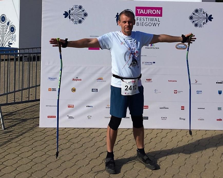Mielczanin wziął udział w zawodach nordic walking. Dobry występ w Krynicy-Zdroju - Zdjęcie główne