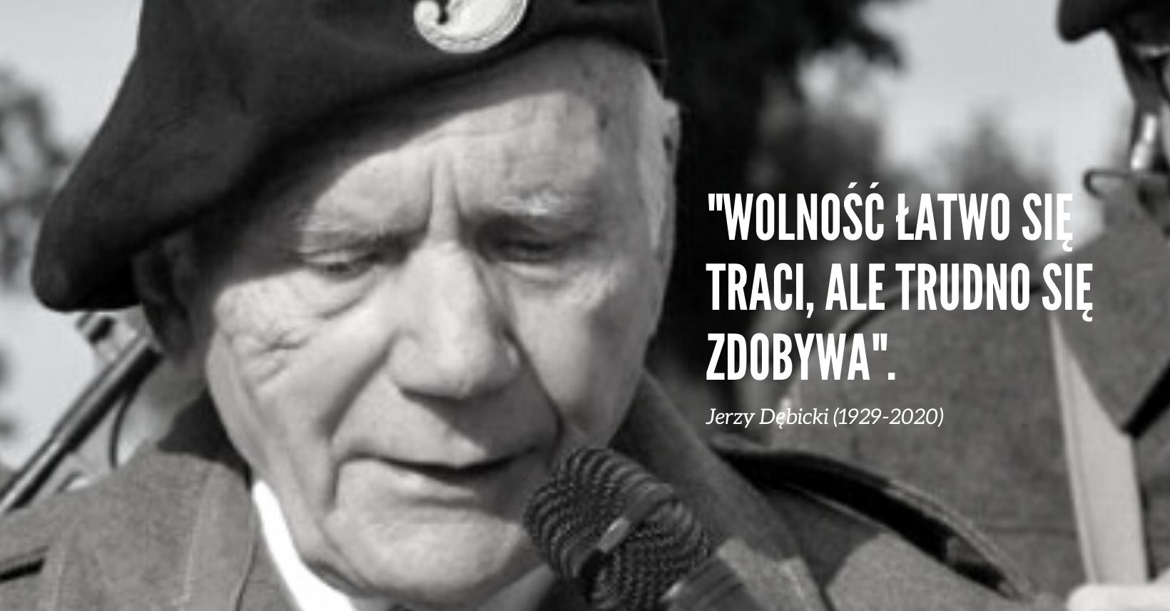Jutro pogrzeb śp. Jerzego Dębickiego. Będzie honorowa asysta wojskowa - Zdjęcie główne