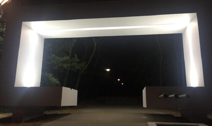 Brama na górce Cyranowksiej wyremontowana!  - Zdjęcie główne