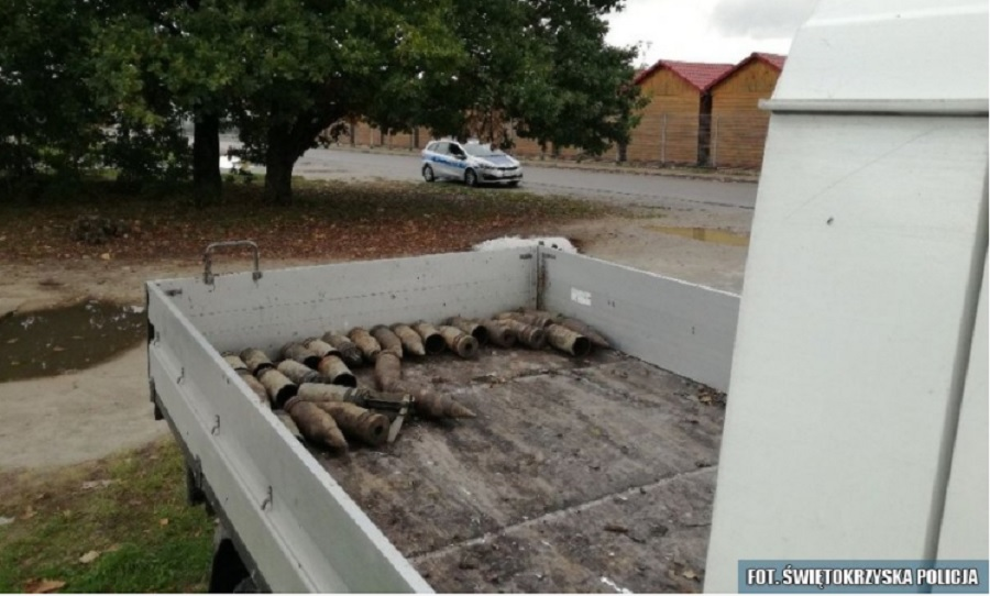 Ciekawa wymiana towarów mieszkańca Gminy Mielec: pociski za opał! [FOTO] - Zdjęcie główne