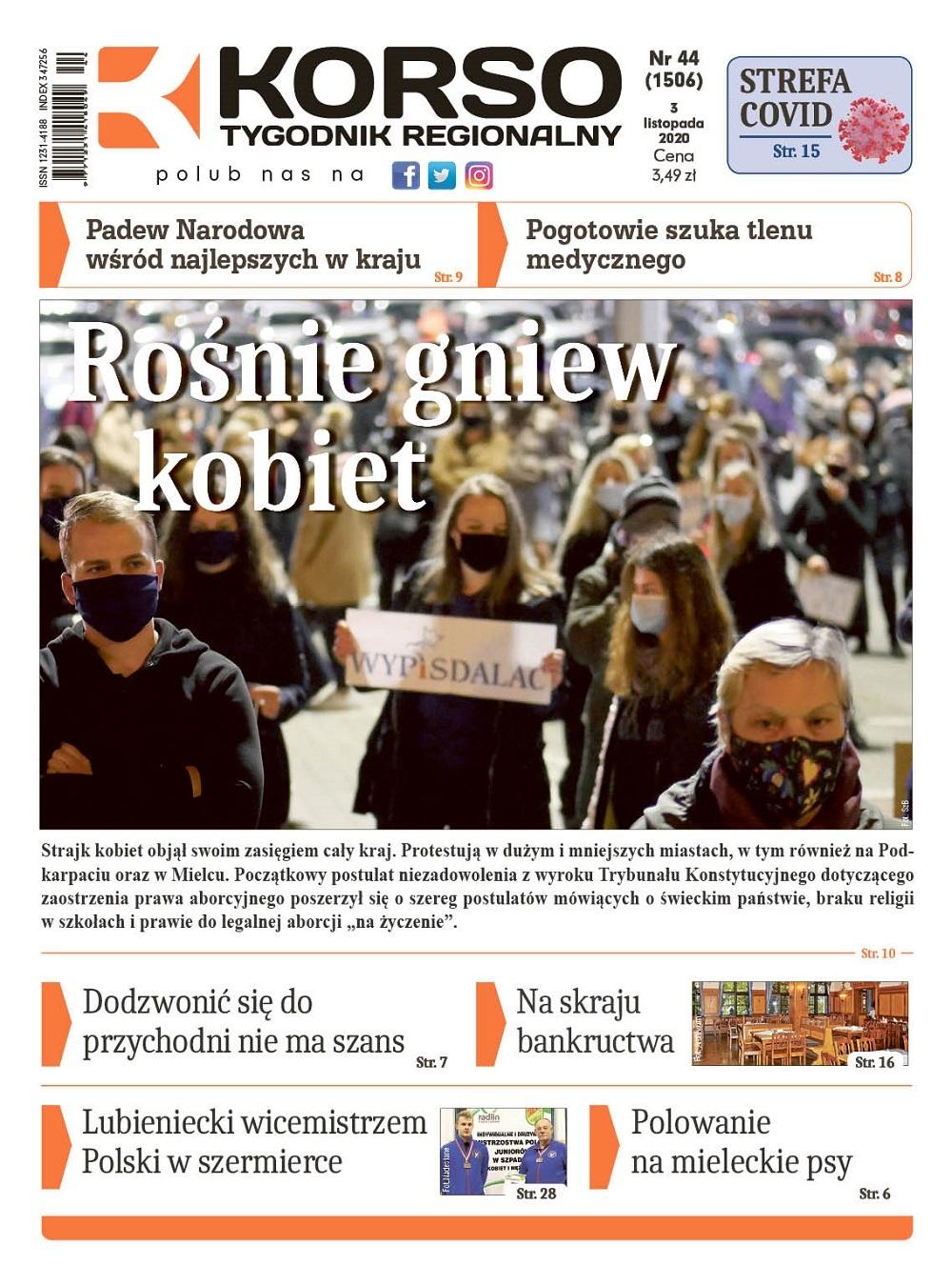 Tygodnik Regionalny KORSO nr 44/2020 - Zdjęcie główne