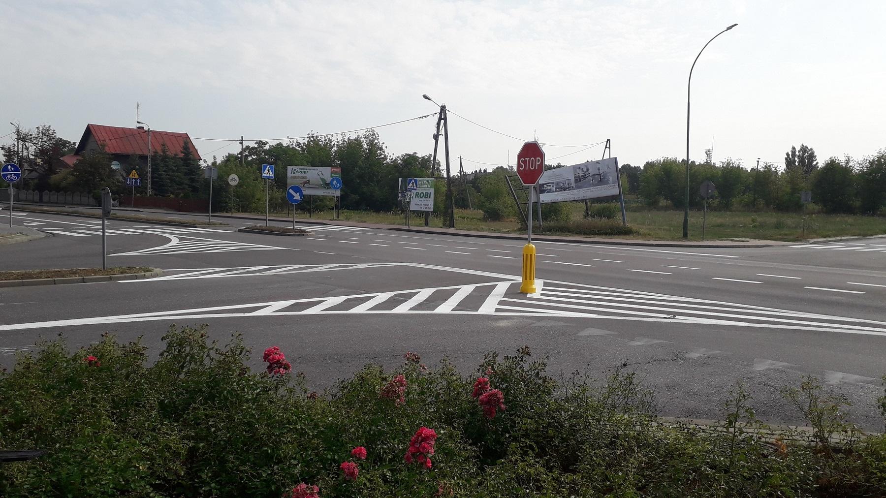 Na niebezpiecznym skrzyżowaniu jest szansa na rondo - Zdjęcie główne