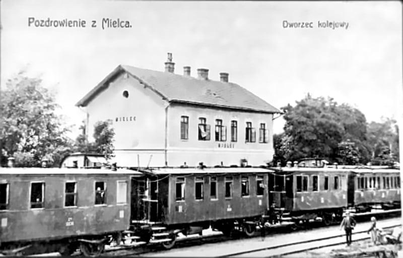 133 lata temu, 30 października 1887 r., przez Mielec przejechał pierwszy pociąg  - Zdjęcie główne