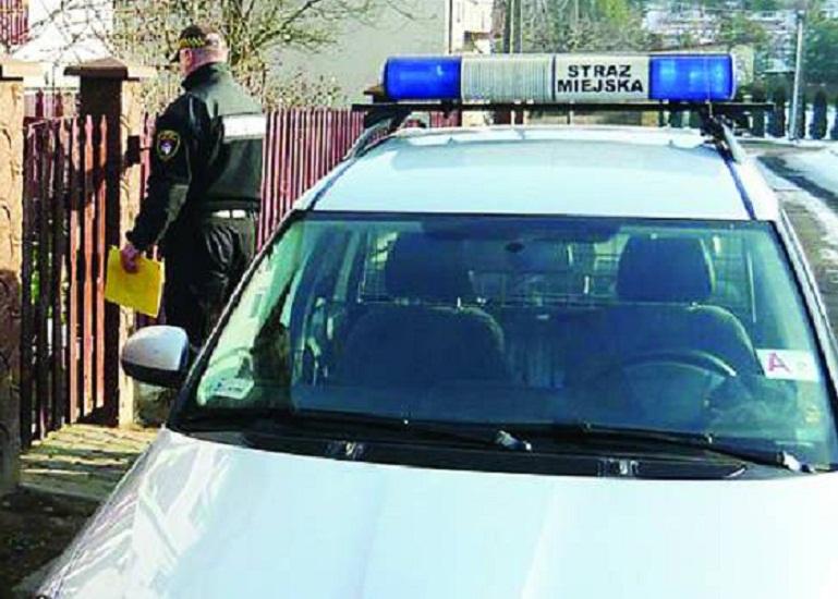 Mielecka straż miejska na kwarantannie - Zdjęcie główne