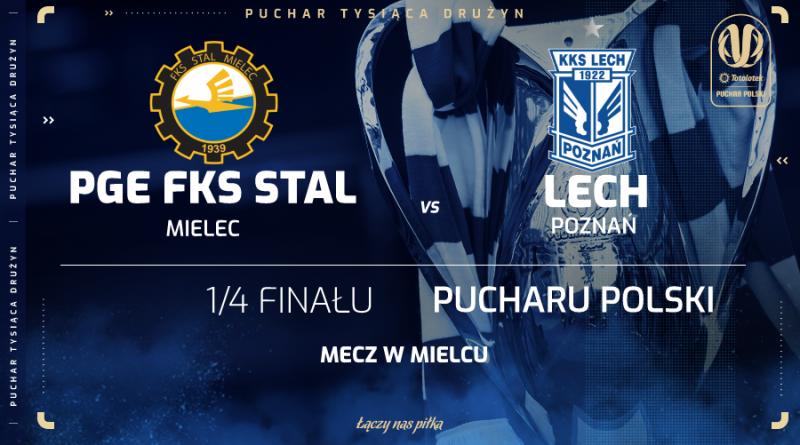 Totolotek Puchar Polski: PGE Stal Mielec o półfinał zagra z Lechem Poznań - Zdjęcie główne