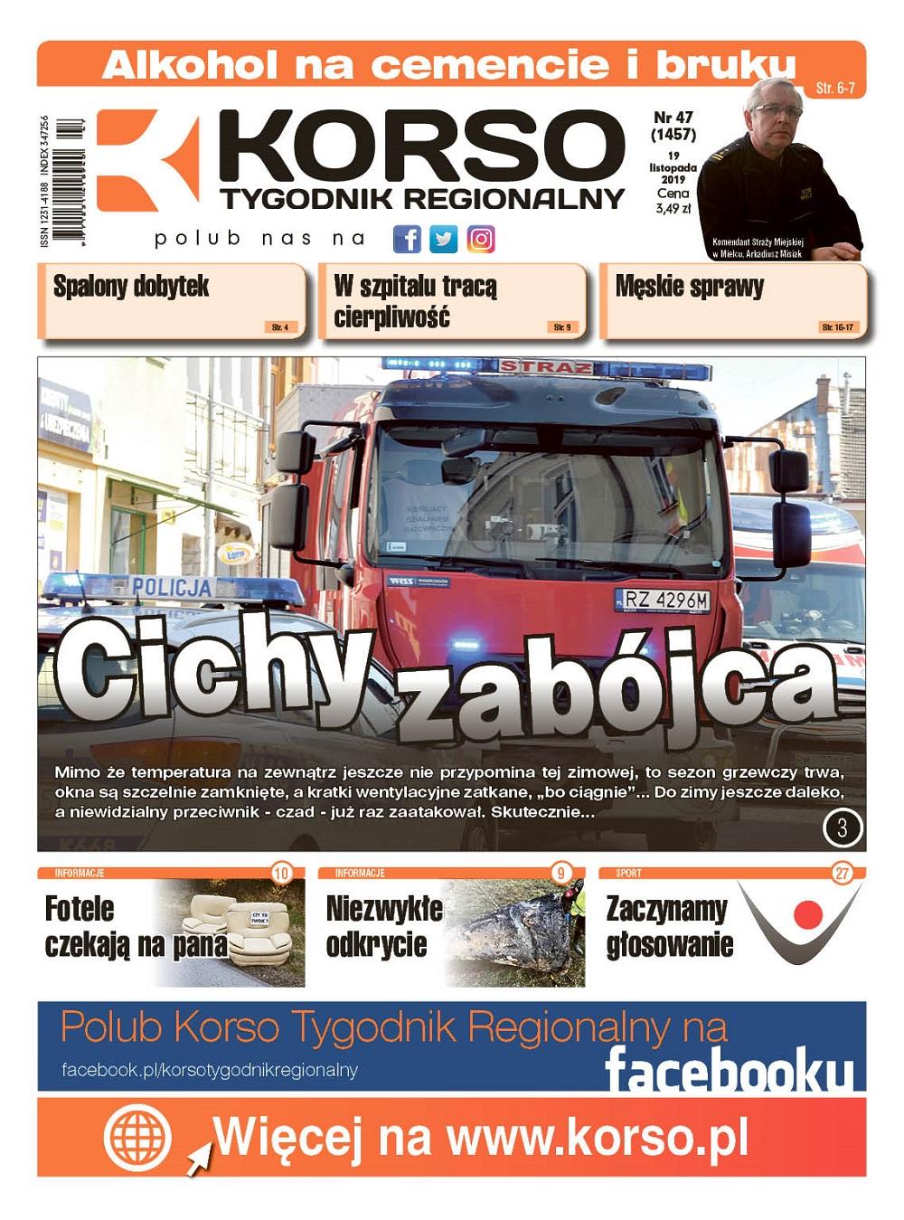 Tygodnik Regionalny Korso nr 47/2019 - Zdjęcie główne