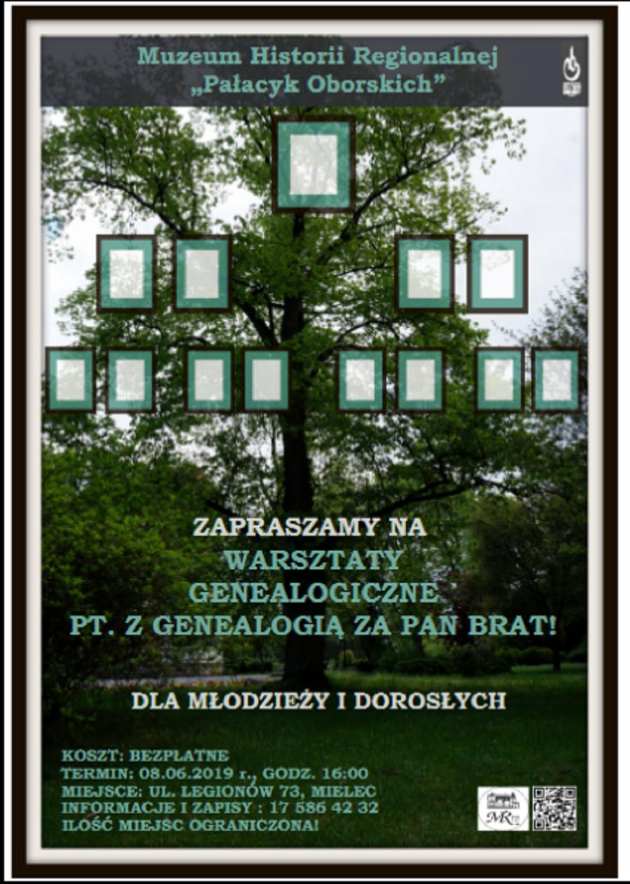 Kim był mój pradziadek? Warsztaty genealogiczne w Pałacyku Oborskich  - Zdjęcie główne