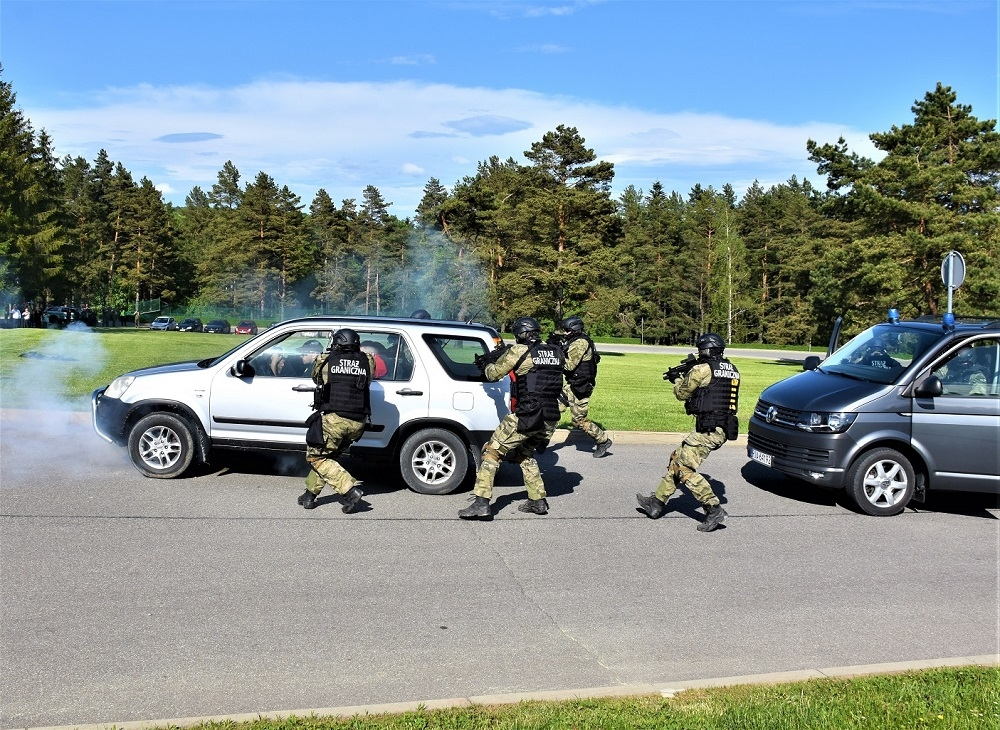 W Arłamowie obchodzono Europejski Dzień Straży Granicznej i Przybrzeżnej - Zdjęcie główne
