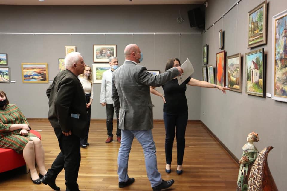 Galeria ESCEK gościła malarstwo z najsłynniejszym podkarpackich plenerów - Zdjęcie główne