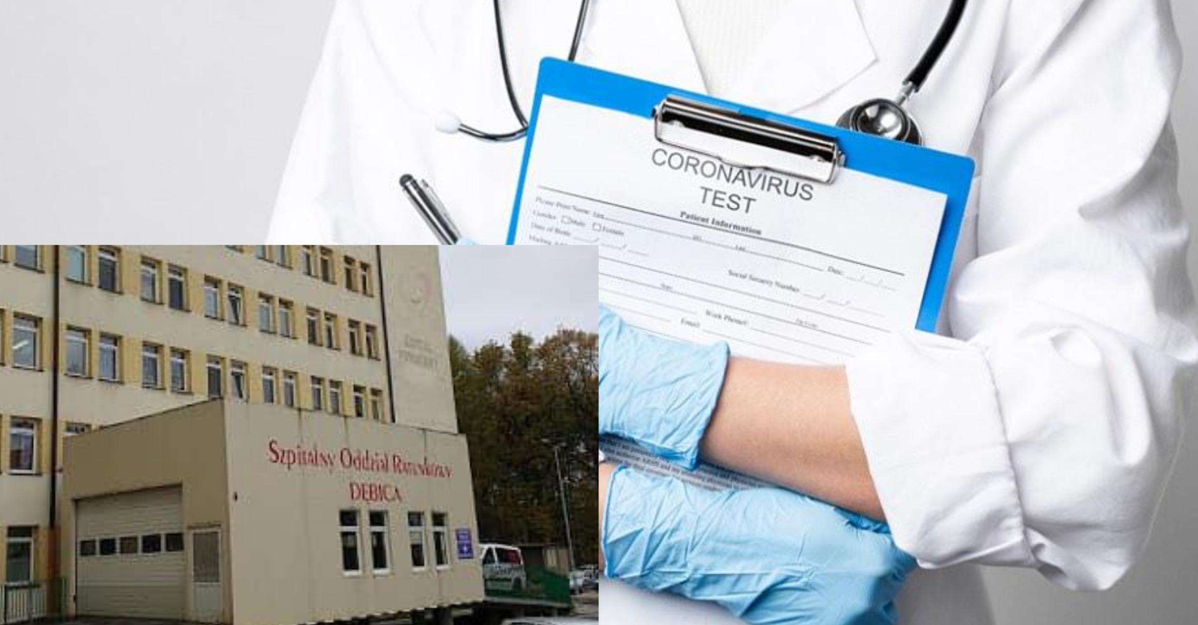 Kolejne oddziały szpitalne zamknięte w Dębicy. Powód: koronawirus! - Zdjęcie główne